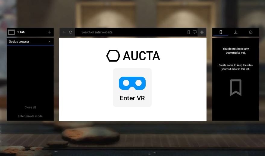 Oculus VR Training without Facebook login